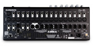 Allen & Heath QU16 Mixing Console Rear