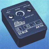 BSS Audio AR116 DI Box