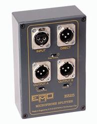 EMO E325 Microphone Splitter Passive