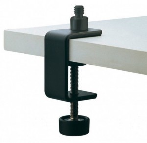 K & M 237 Microphone Table Clamp