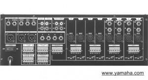 Yamaha MV12-6 Mixer Rear